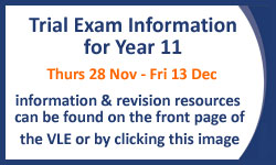 A Level & GCSE Exam Information