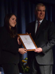 Duke of York Visit 2018 - Award Presentations